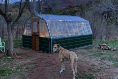 Greenhouse-evening