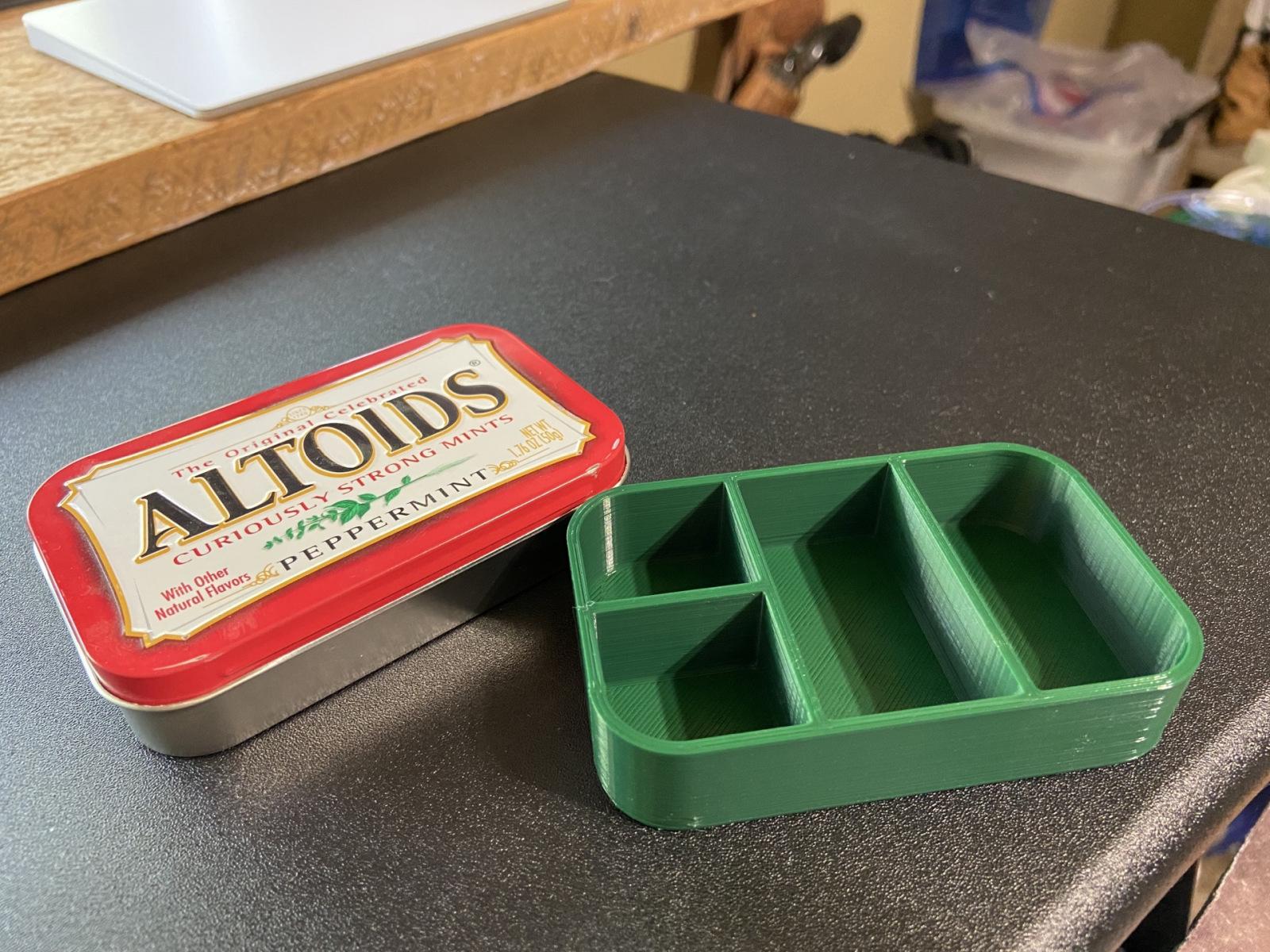 Altoids Tin Parts Insert